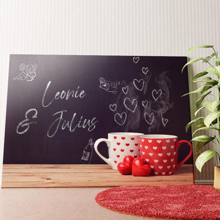 Personalisiertes Wandbild Chalkboard
