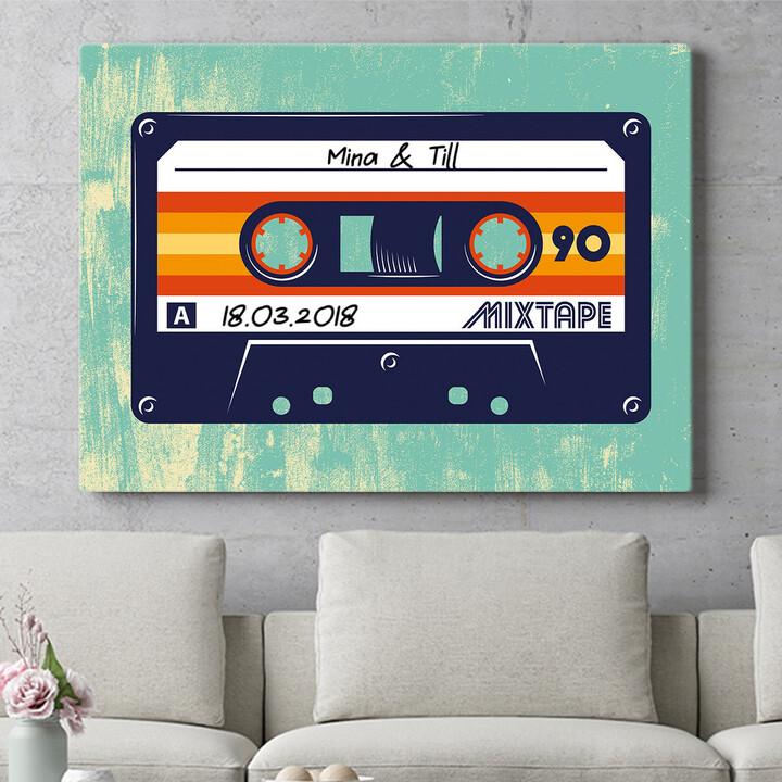 Personalisierbares Geschenk Mixtape