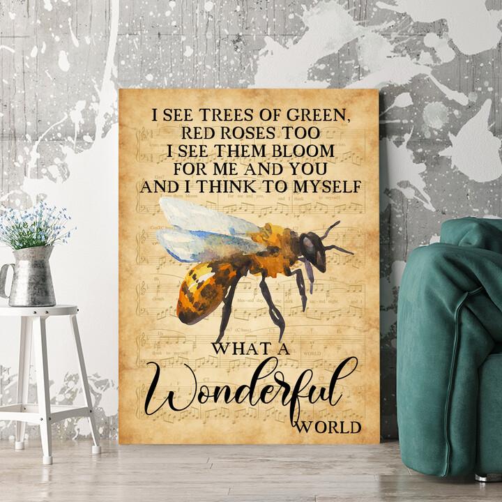 Personalisierbares Geschenk Wonderful World