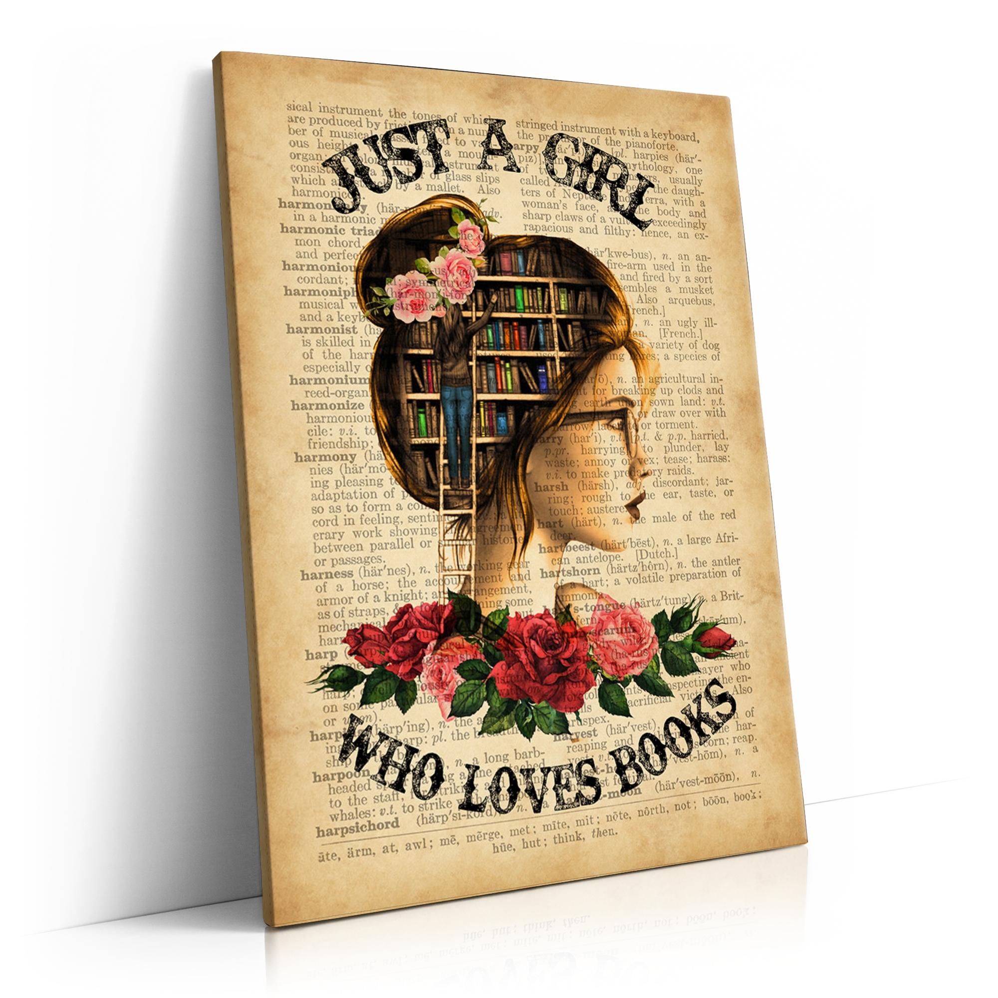 Girl Who Loves Books