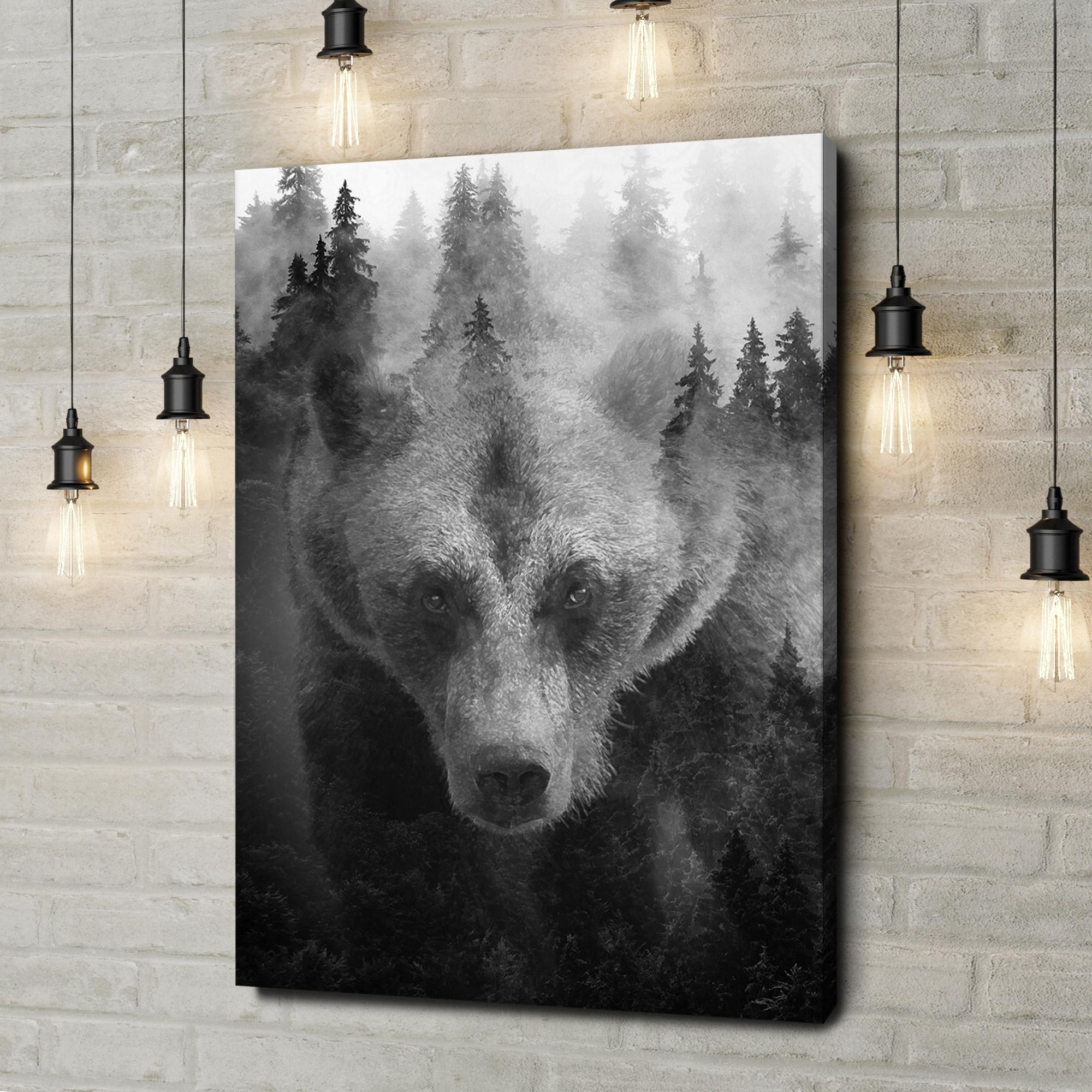 Leinwandbild personalisiert Into The Forest I Go