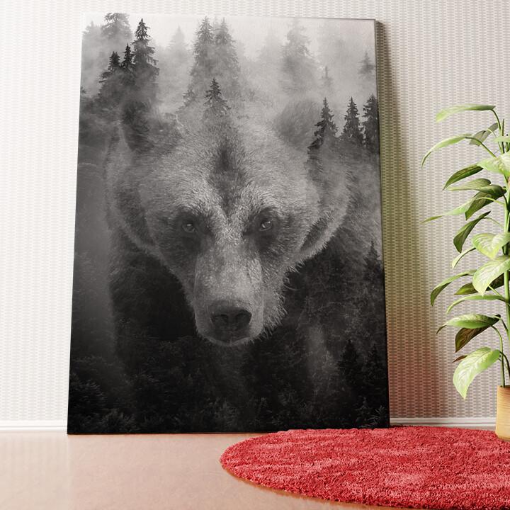 Personalisiertes Wandbild Into The Forest I Go