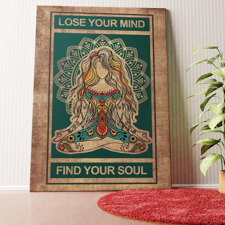 Personalisiertes Wandbild Lose Your Mind