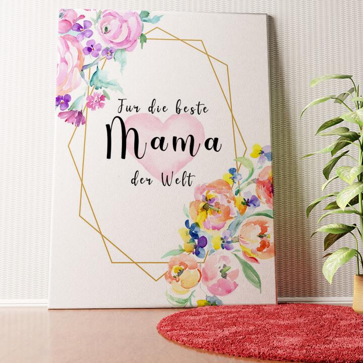 Personalisiertes Wandbild Für Mama
