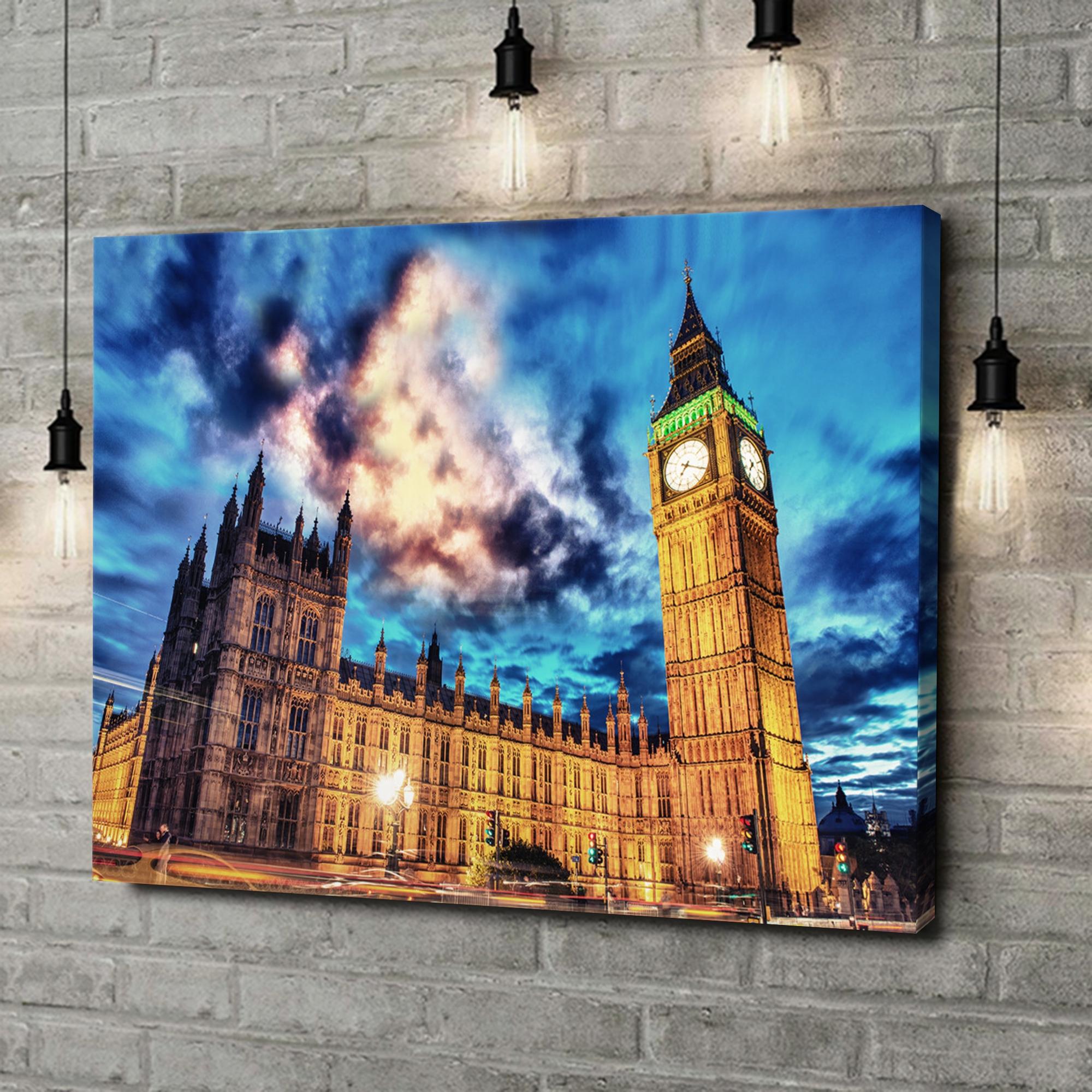 Leinwandbild personalisiert Big Ben London