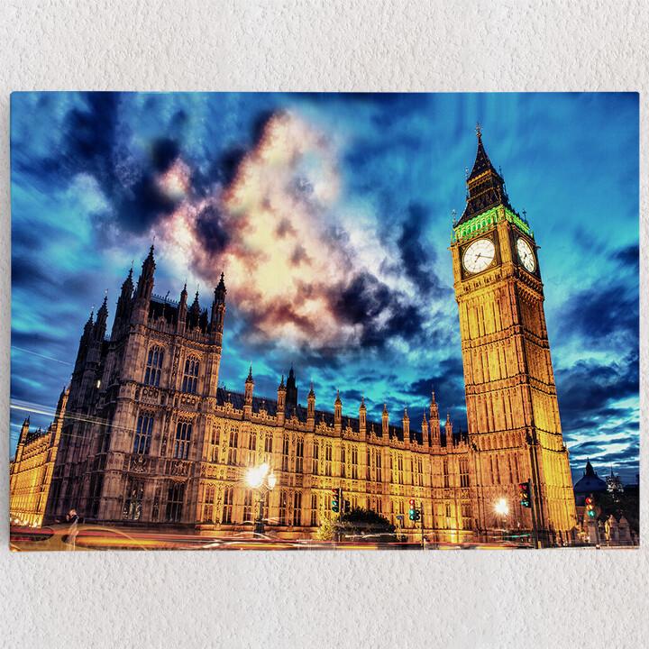 Personalisiertes Leinwandbild Big Ben London