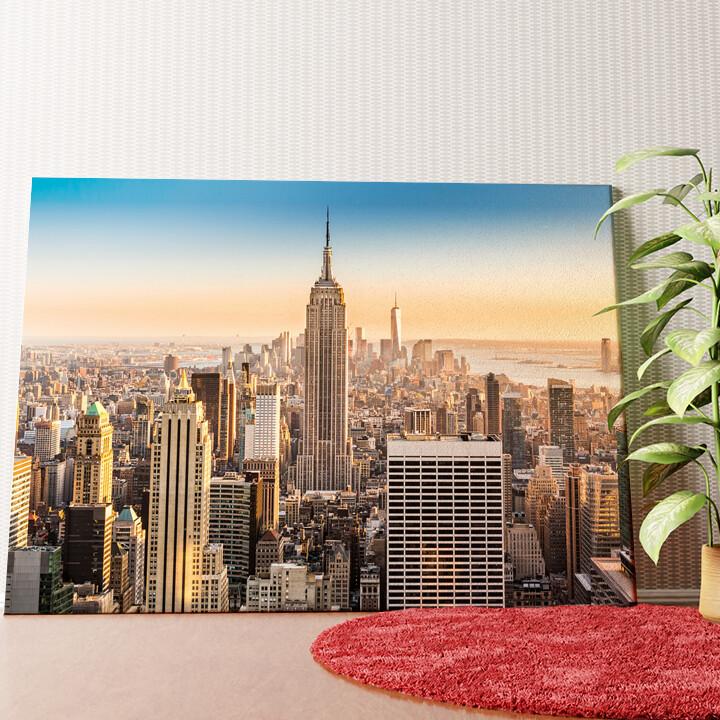 Personalisiertes Wandbild Manhattan New York