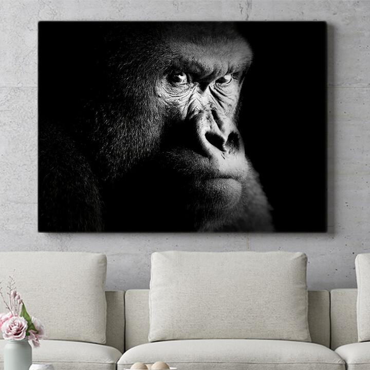 Personalisierbares Geschenk Gorilla