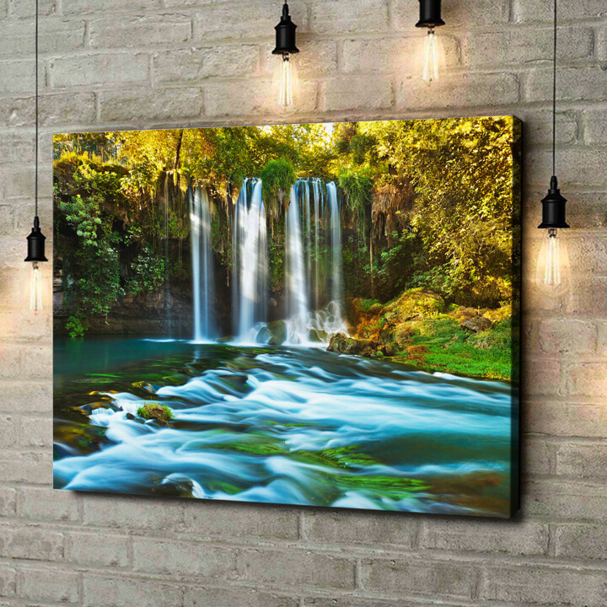 Leinwandbild personalisiert Duden Wasserfall Antalya