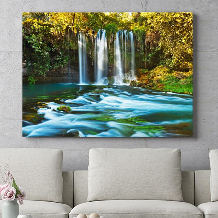 Personalisierbares Geschenk Duden Wasserfall Antalya