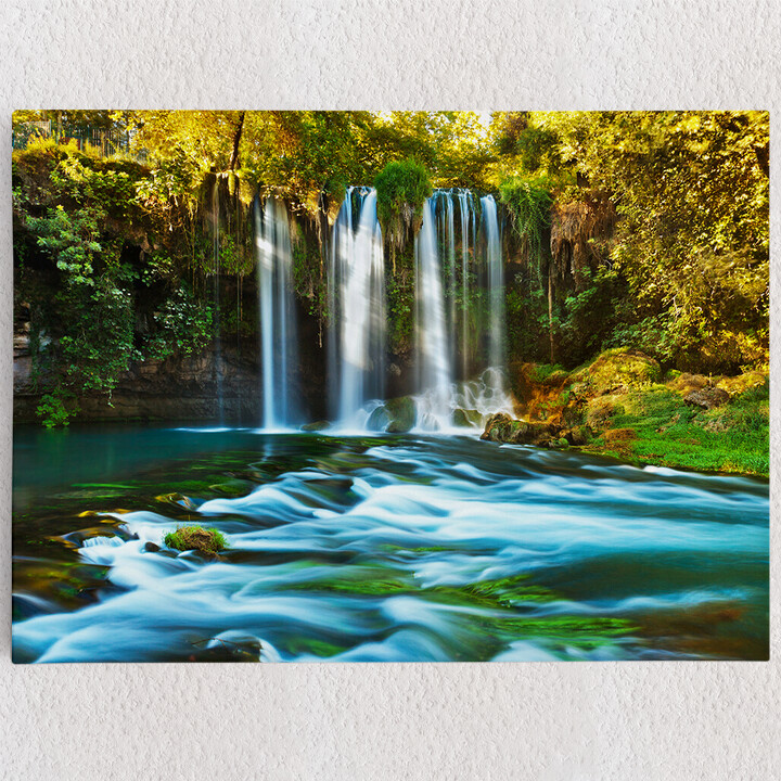 Personalisiertes Leinwandbild Duden Wasserfall Antalya
