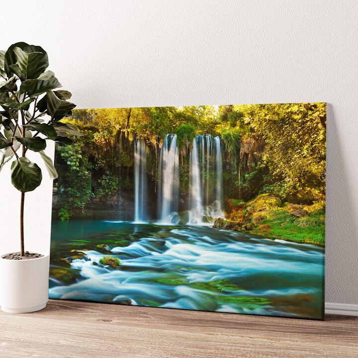Duden Wasserfall Antalya Wandbild personalisiert