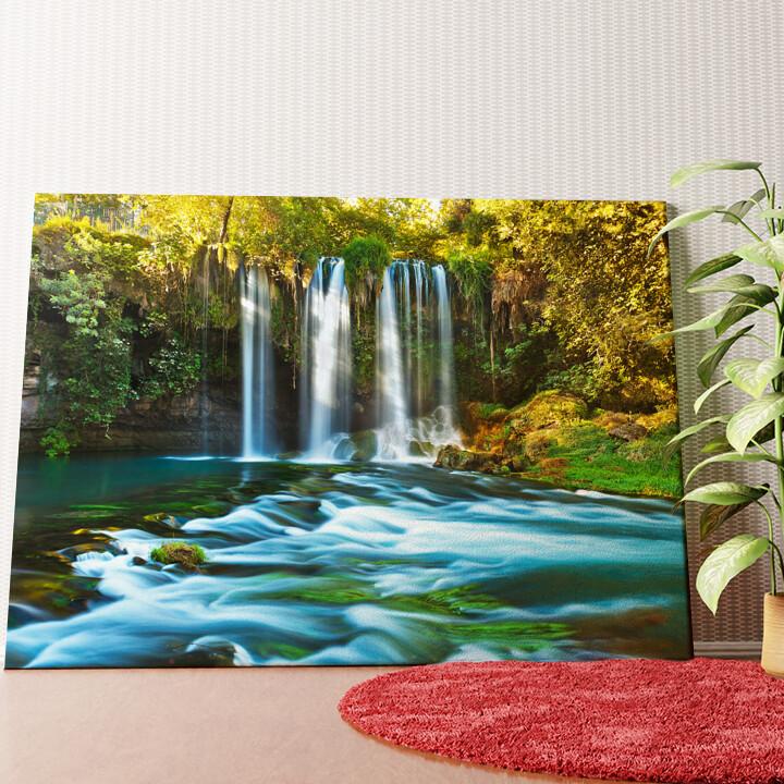 Personalisiertes Wandbild Duden Wasserfall Antalya