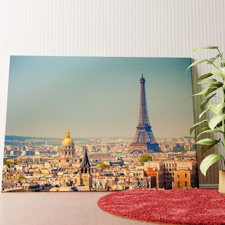 Personalisiertes Wandbild Paris Skyline