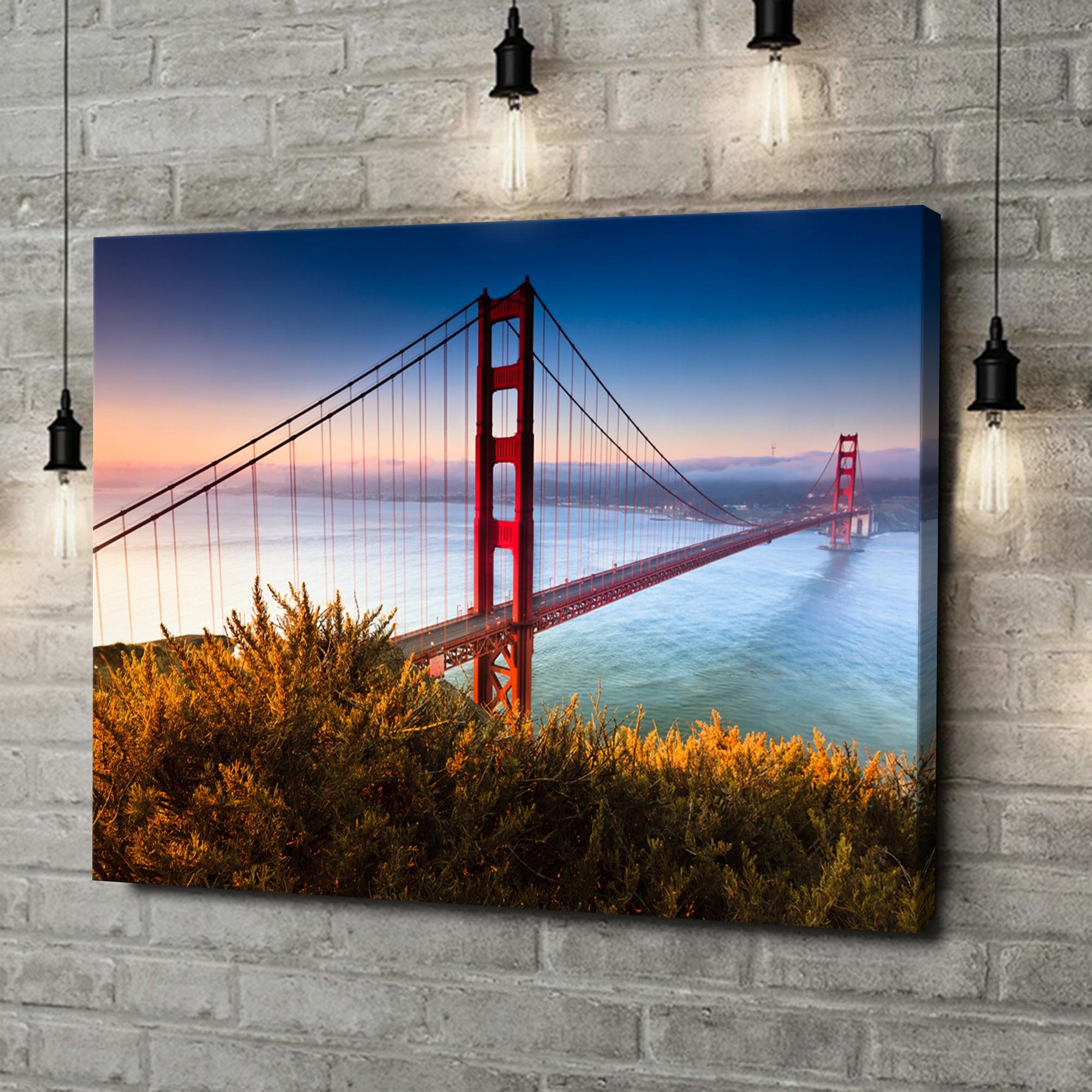Leinwandbild personalisiert San Francisco Golden Gate Bridge