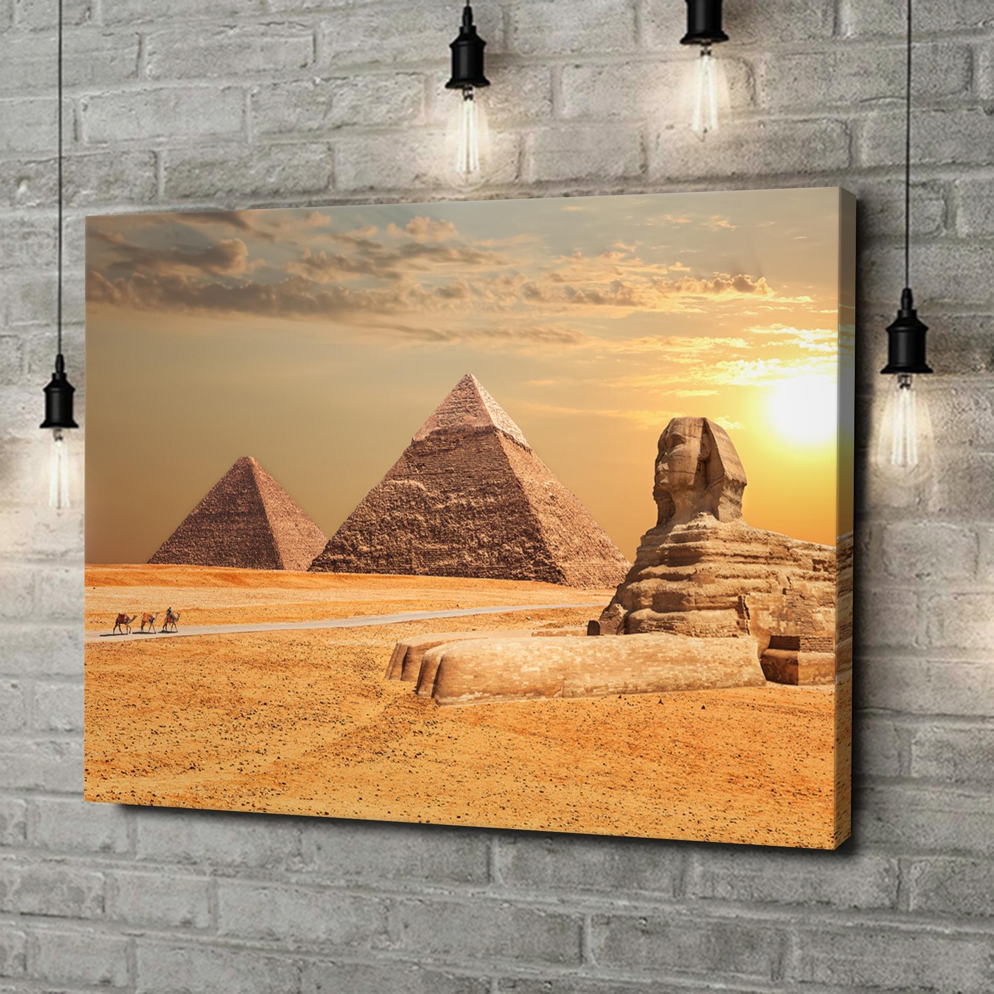 Leinwandbild personalisiert Sphinx