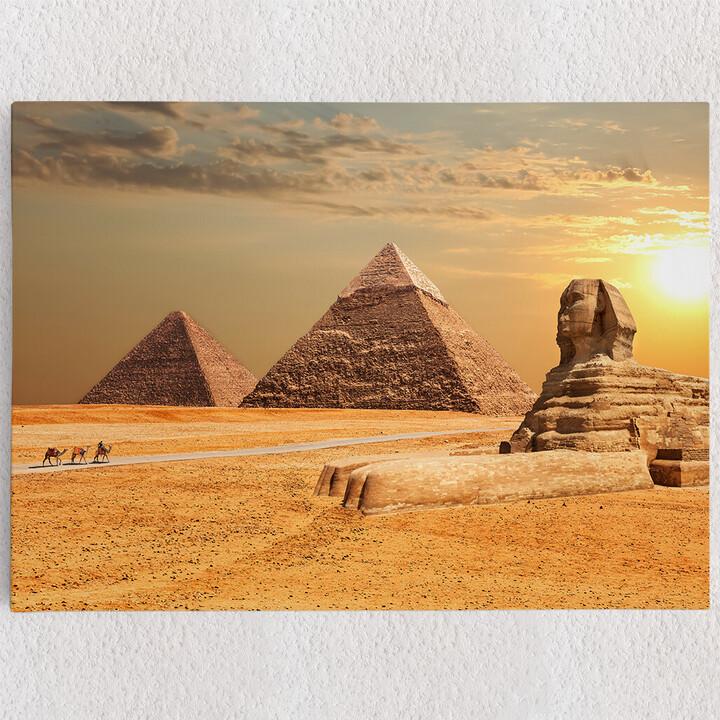Personalisiertes Leinwandbild Sphinx