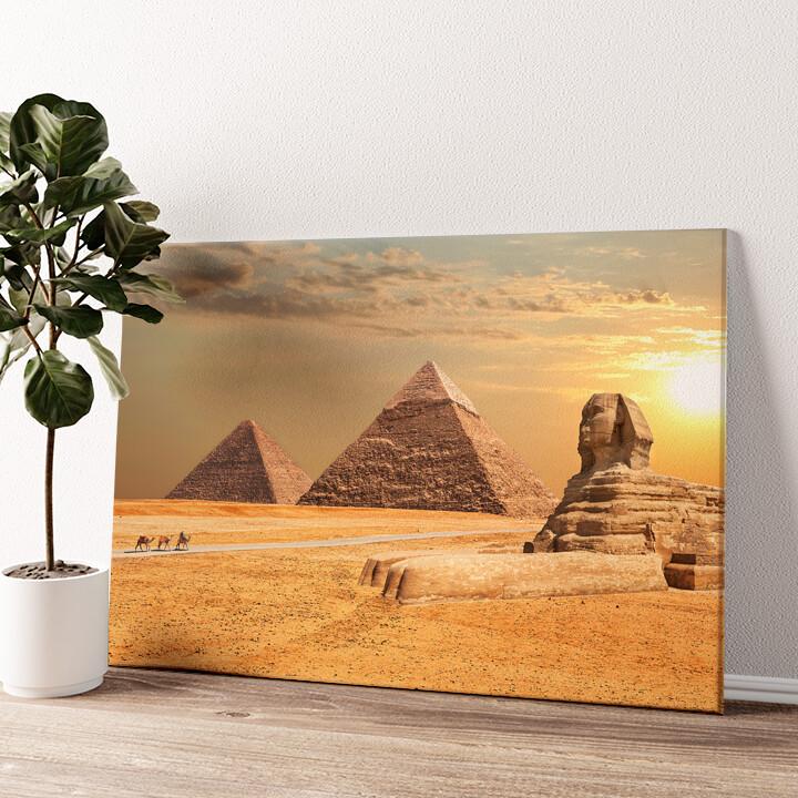 Sphinx Wandbild personalisiert