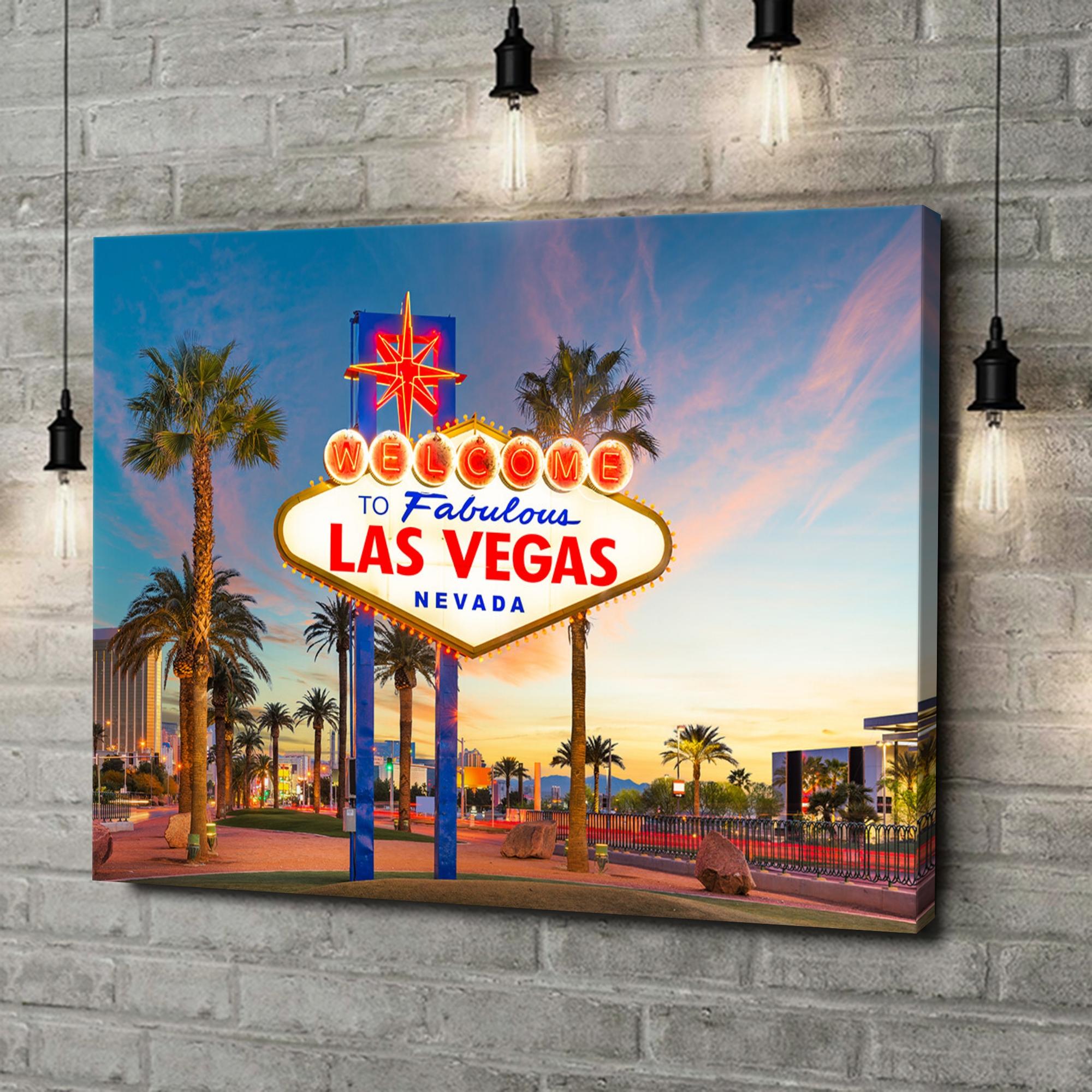 Leinwandbild personalisiert Las Vegas