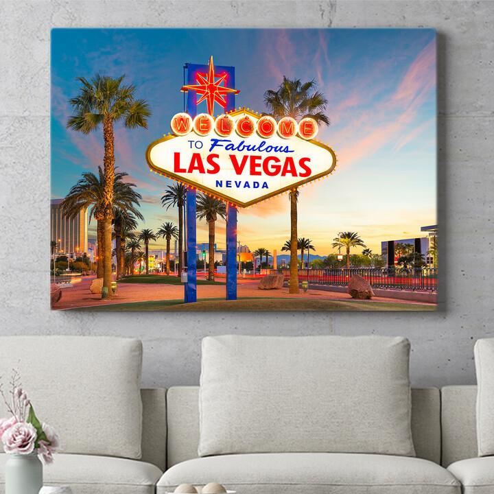 Personalisierbares Geschenk Las Vegas