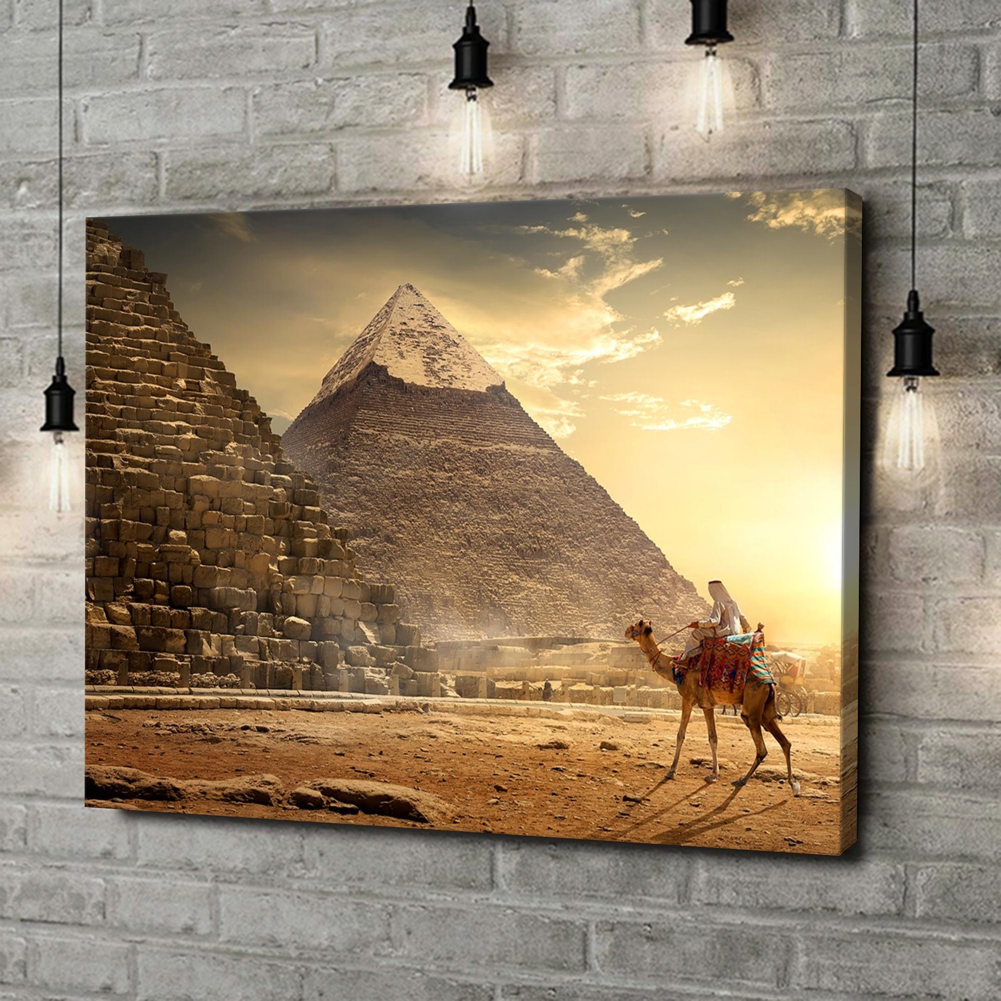 Leinwandbild personalisiert Pyramiden