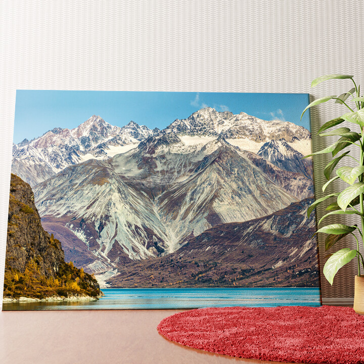 Personalisiertes Wandbild Glacier Bay National Park Alaska