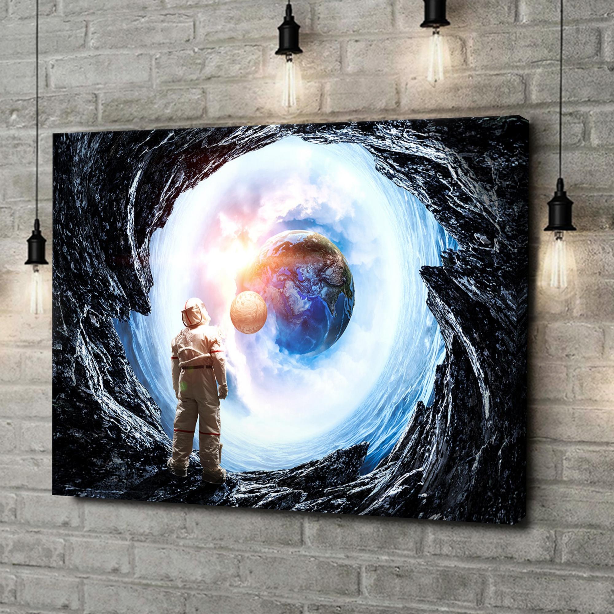 Leinwandbild personalisiert Spaceman