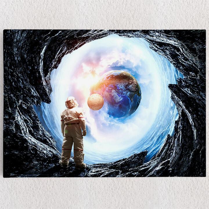 Personalisiertes Leinwandbild Spaceman