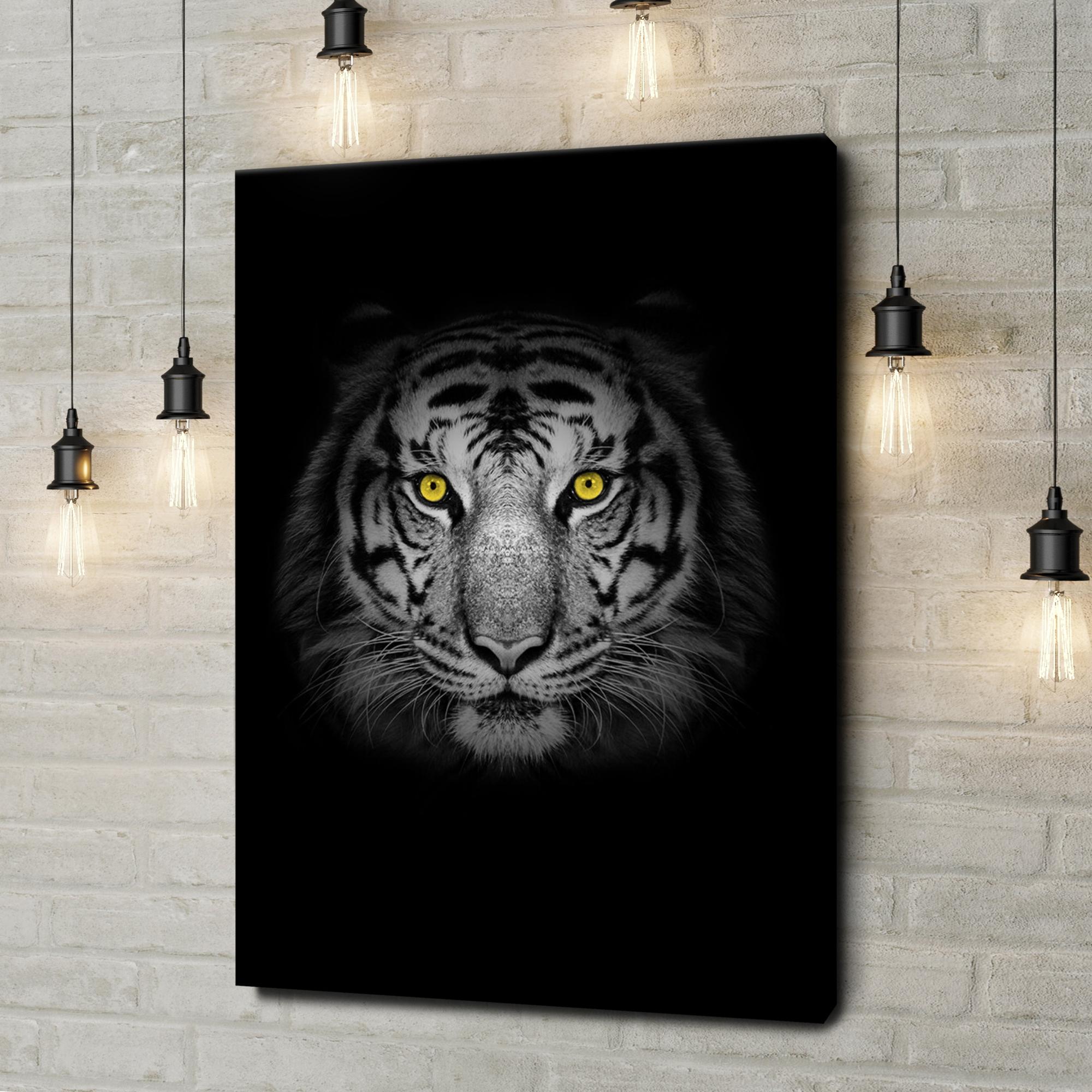 Leinwandbild personalisiert Tiger