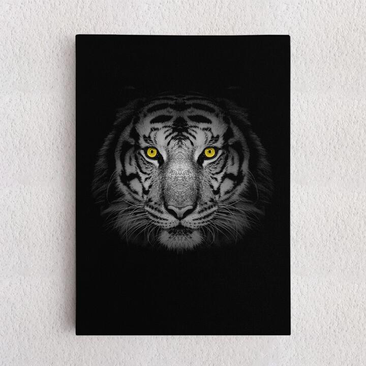 Personalisiertes Leinwandbild Tiger