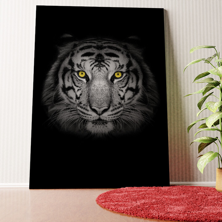 Personalisiertes Wandbild Tiger