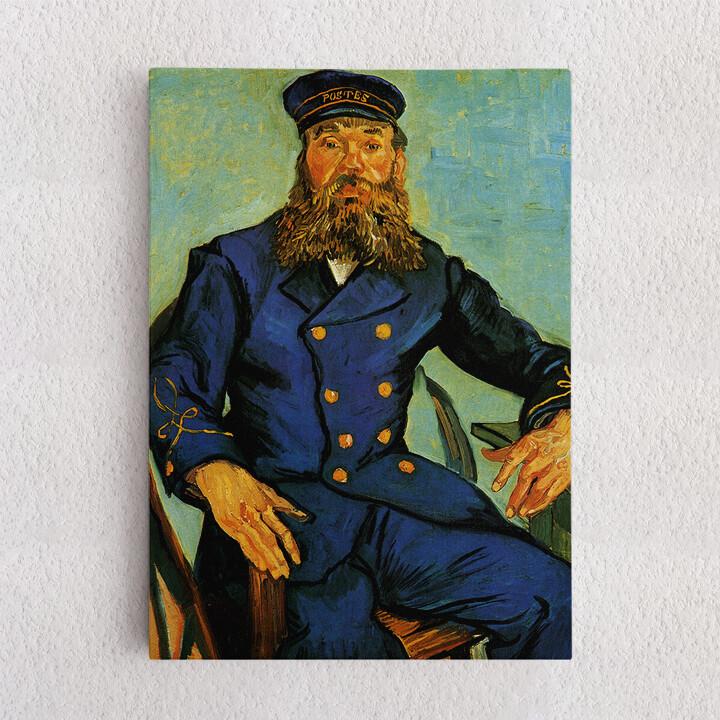 Personalisiertes Leinwandbild Portrait des Briefträgers