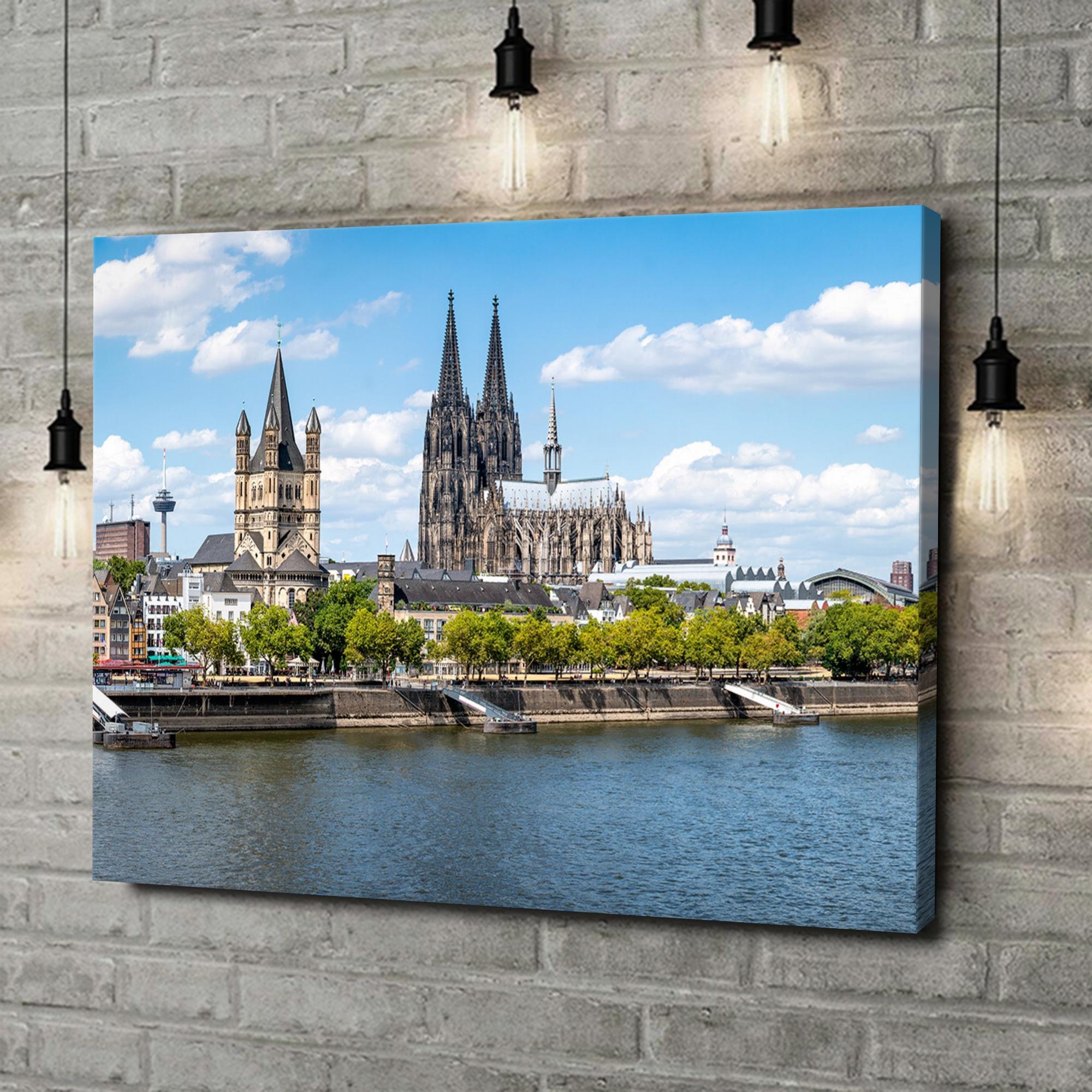 Leinwandbild personalisiert Kölner Dom