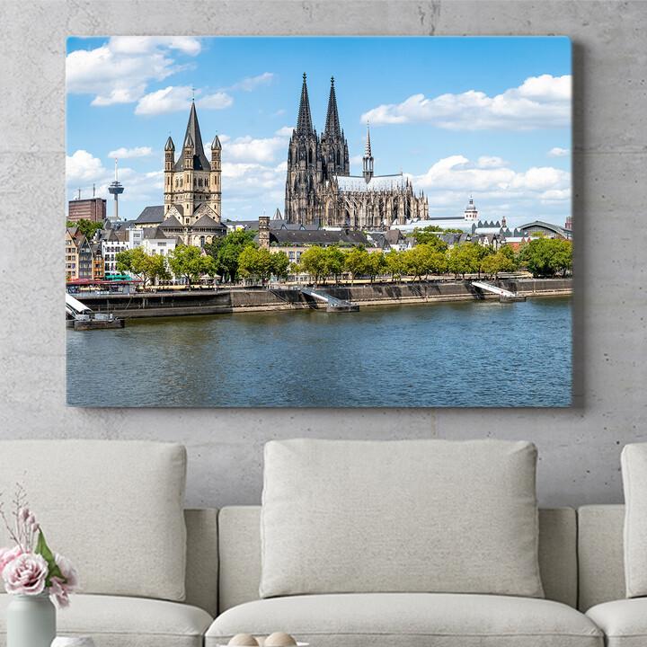 Personalisierbares Geschenk Kölner Dom