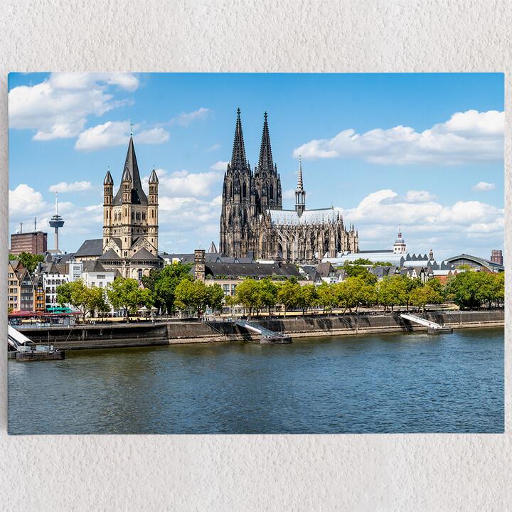 Personalisiertes Leinwandbild Kölner Dom