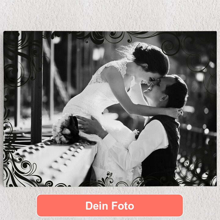 Personalisiertes Leinwandbild Hintergrund: Eleganz