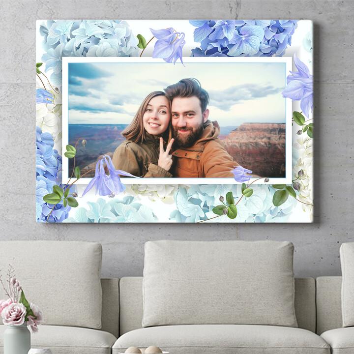 Personalisierbares Geschenk Hintergrund: Blütentraum