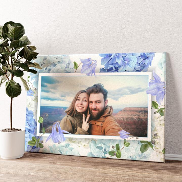Hintergrund: Blütentraum Wandbild personalisiert