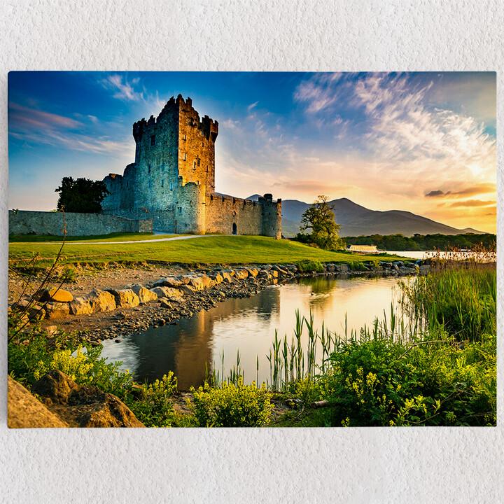 Personalisiertes Leinwandbild Ross Castle Irland