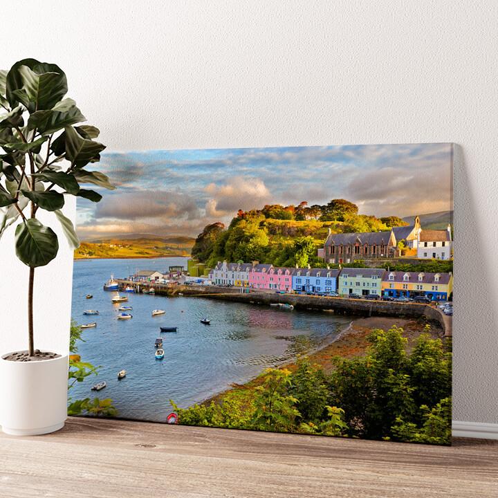Isle Of Skye Wandbild personalisiert