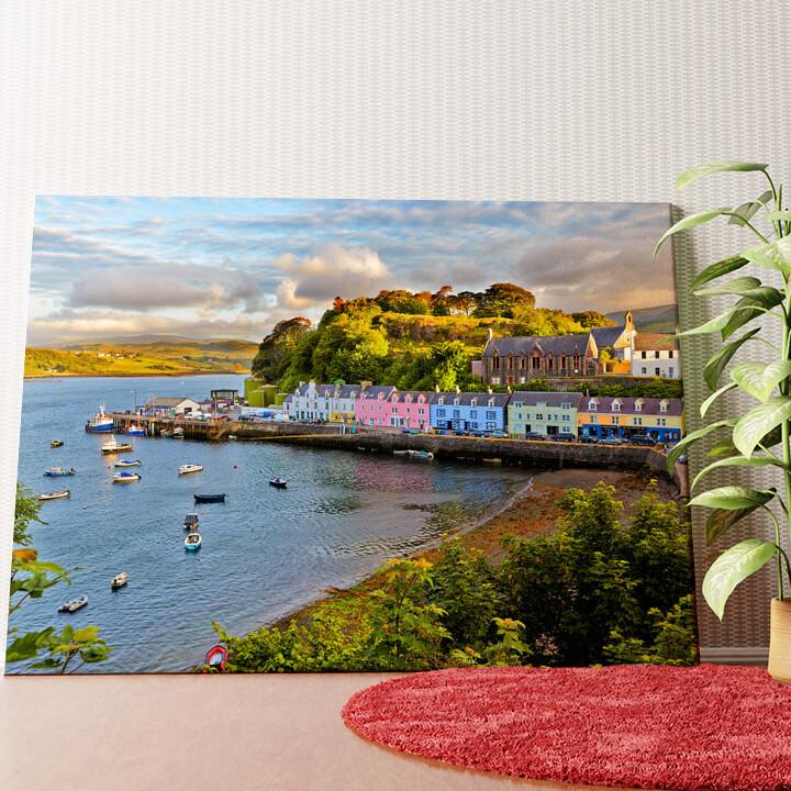Personalisiertes Wandbild Isle Of Skye