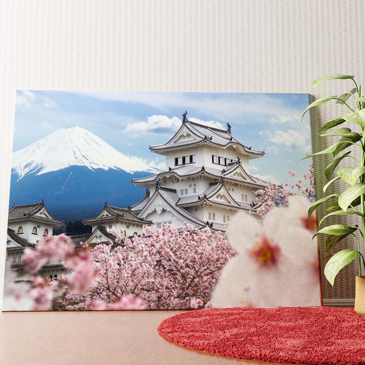 Personalisiertes Wandbild Burg Himeji Japan