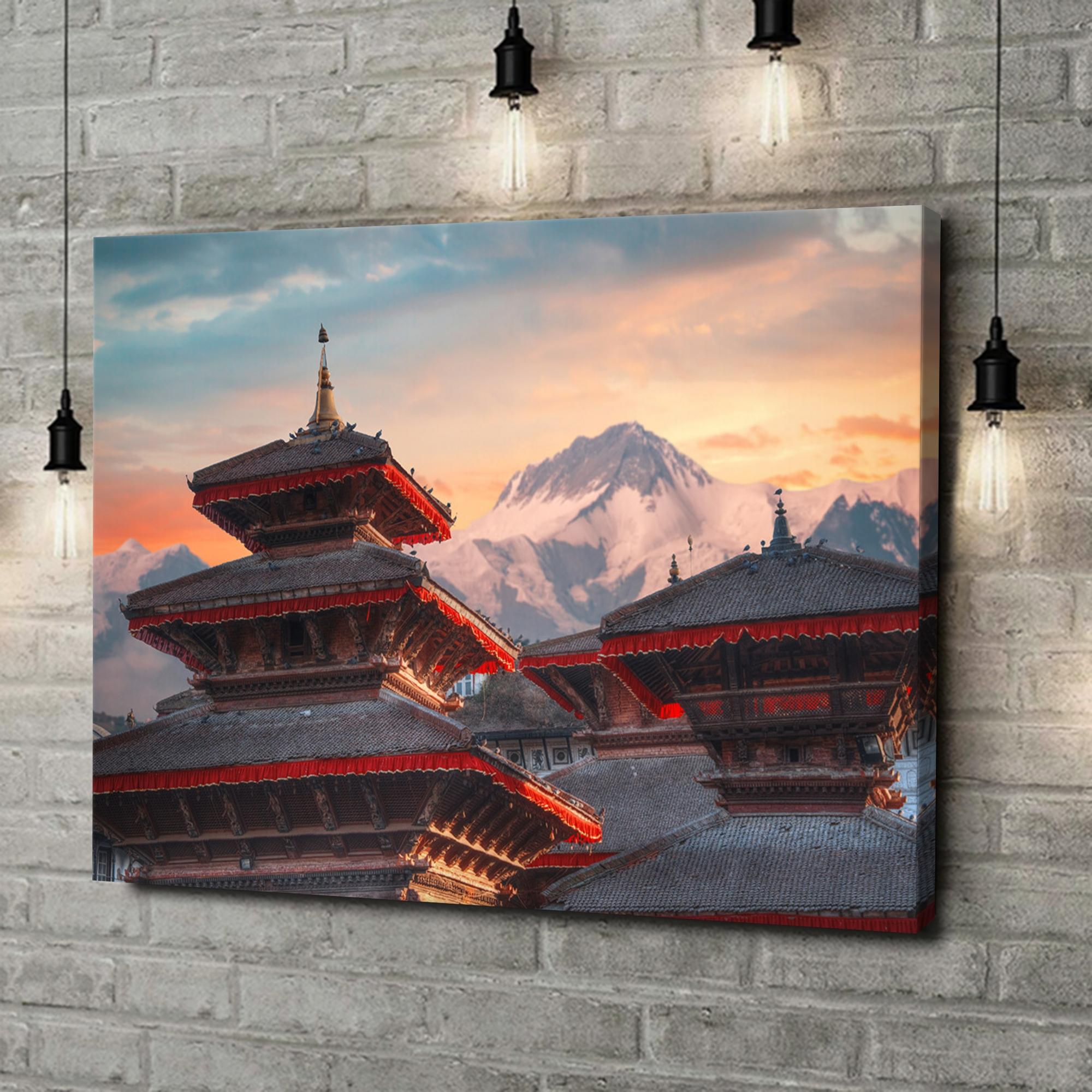 Leinwandbild personalisiert Patan Nepal