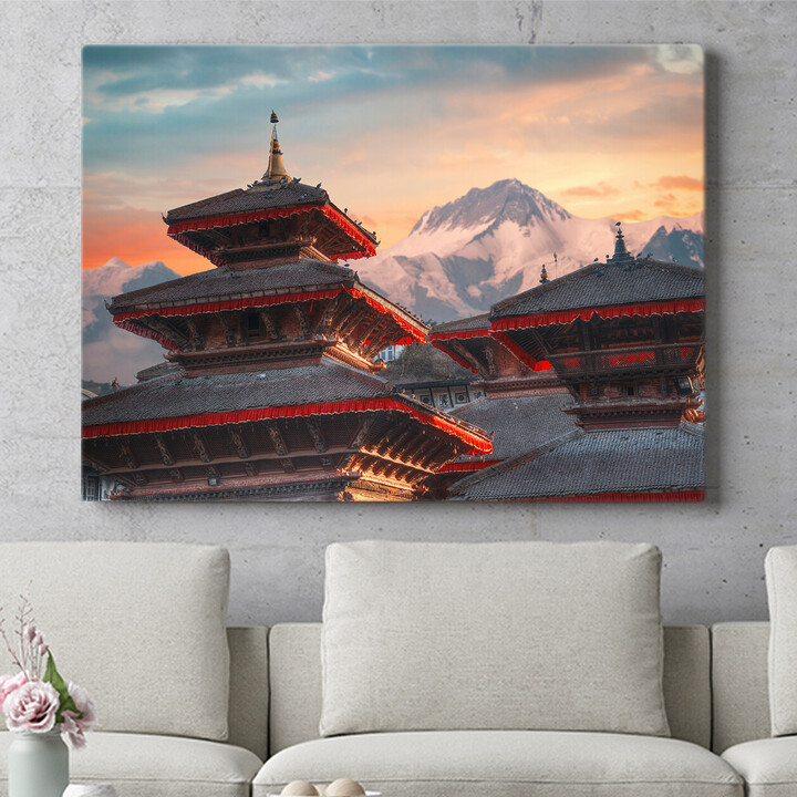 Personalisierbares Geschenk Patan Nepal