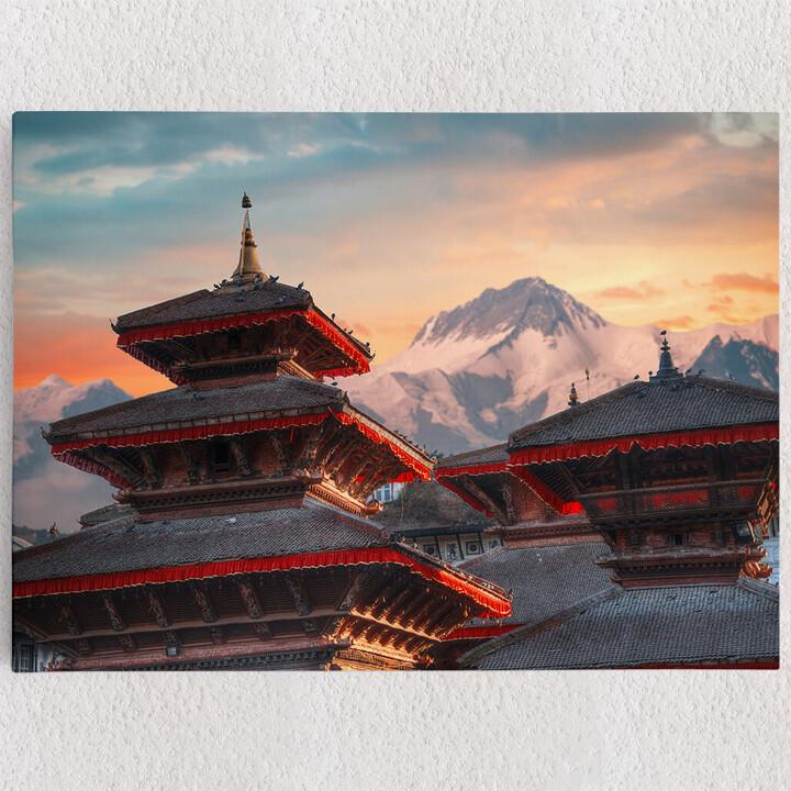 Personalisiertes Leinwandbild Patan Nepal
