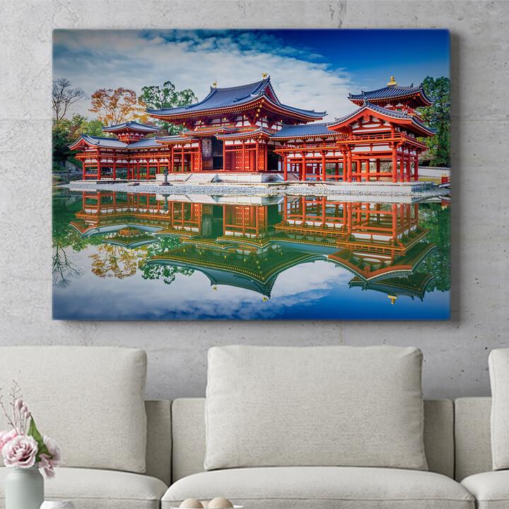 Personalisierbares Geschenk Tempel Uji Kyoto Japan