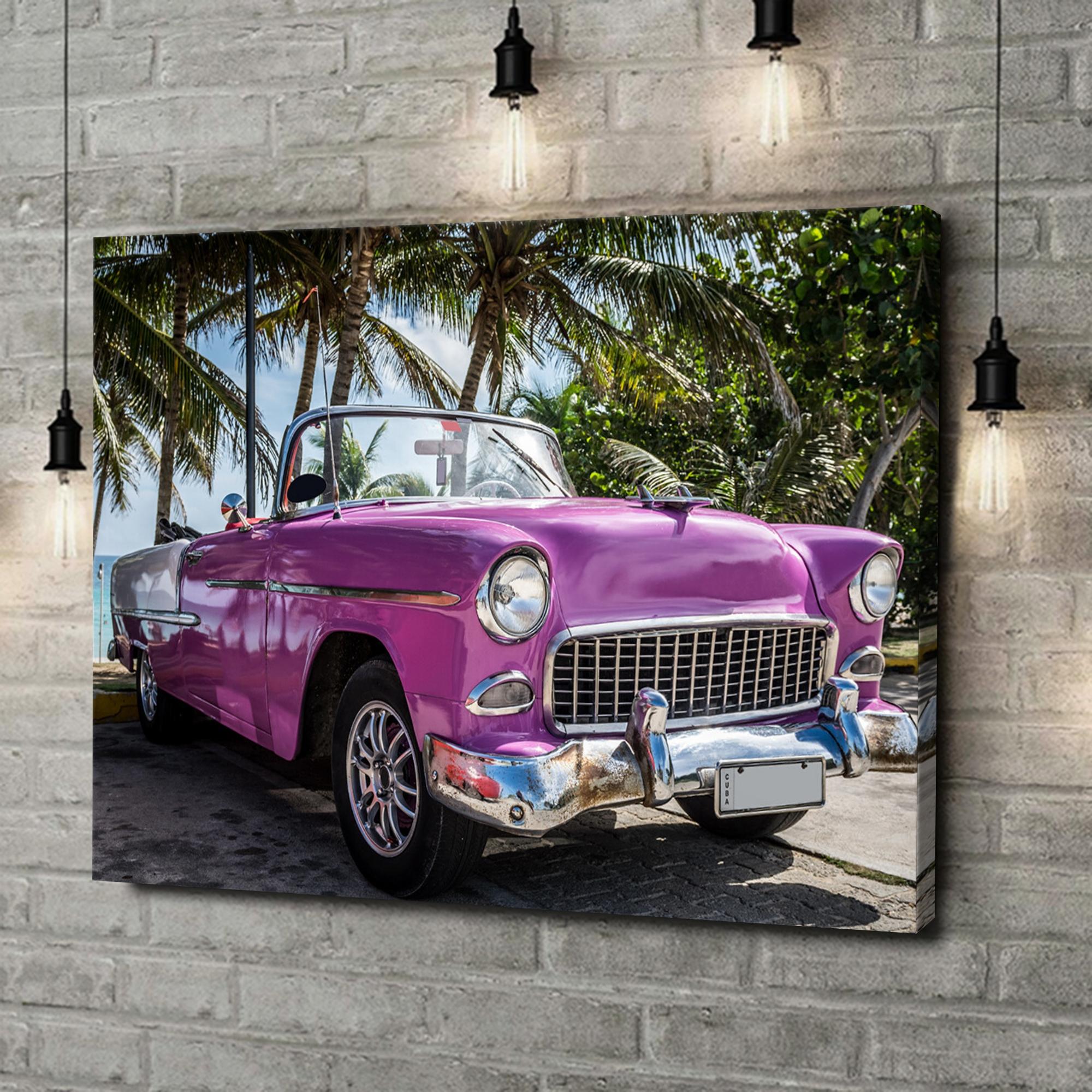 Leinwandbild personalisiert Chevrolet Oldtimer