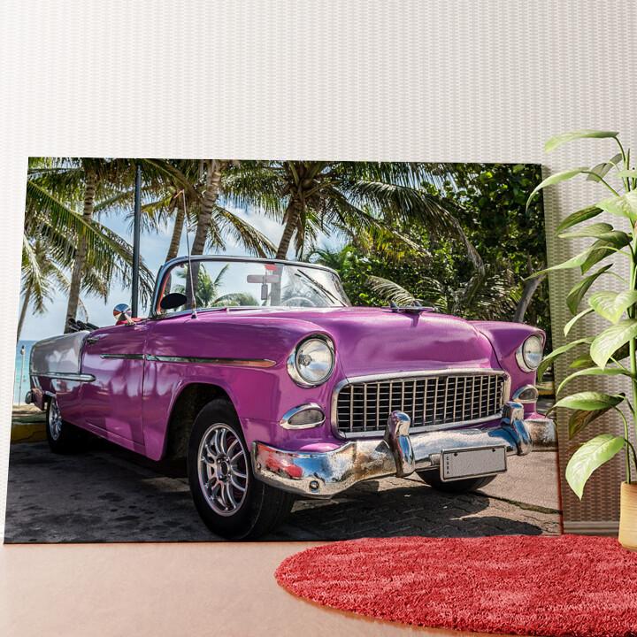 Personalisiertes Wandbild Chevrolet Oldtimer