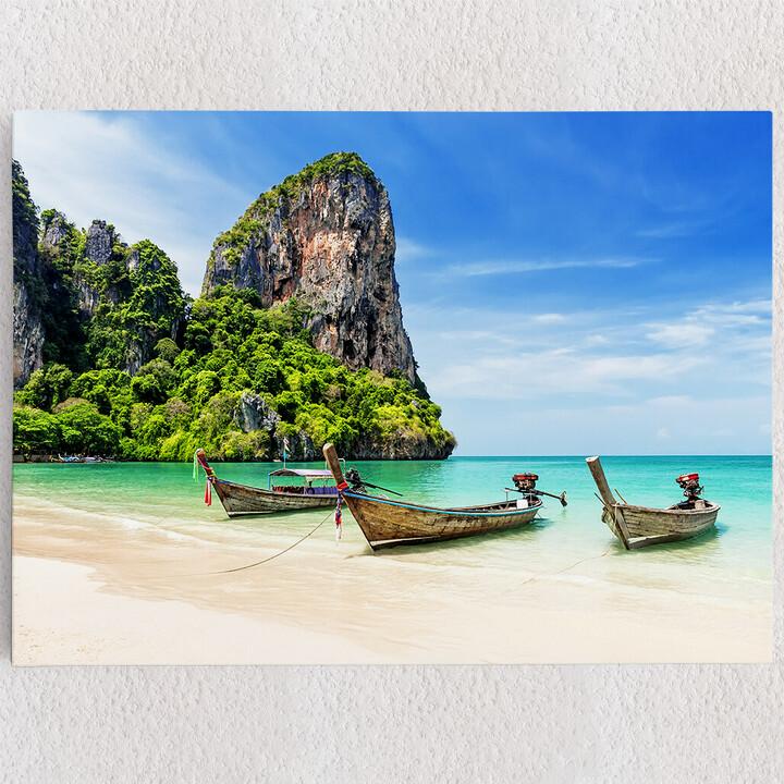 Personalisiertes Leinwandbild Railay Beach Thailand
