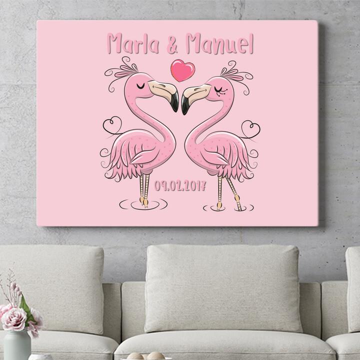 Personalisierbares Geschenk Flamingorama